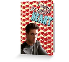 Season 5 Teen Wolf Greeting Cards [Theo] Greeting Card