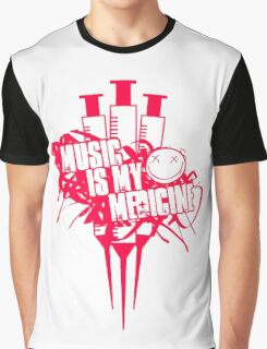 Music In My Medicine Graphic T-Shirt
