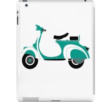 Green vespa iPad Case/Skin