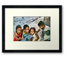 The Fab Four, Cuba Framed Print