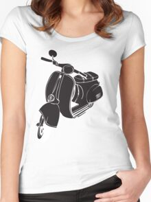 Vespa Women's Fitted Scoop T-Shirt