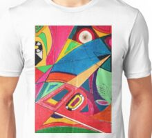 Fruit box Art - geometric abstract no 3 of 4 Unisex T-Shirt