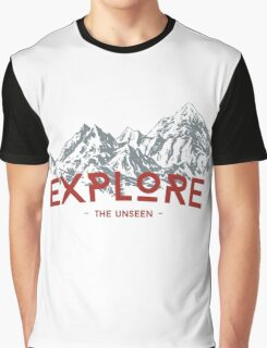 EXPLORE THE UNSEEN Graphic T-Shirt