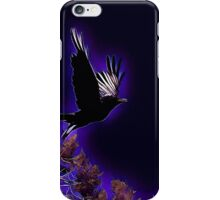 Raven over the Mesa iPhone Case/Skin