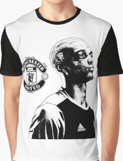 Paul Pogba - Manchester United Graphic T-Shirt