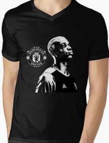 Paul Pogba - Manchester United Mens V-Neck T-Shirt