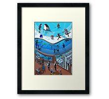 Funny Point of View –Lynda Montgomery Framed Print