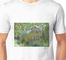A dinosaur in the park 2  Unisex T-Shirt
