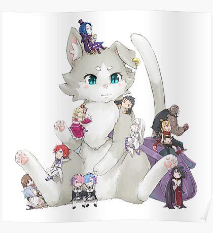 Re:Zero kara Hajimeru Isekai Seikatsu Poster