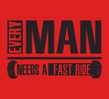 Every man needs a fast ride by nektarinchen
