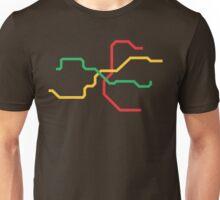 Prague Metro Unisex T-Shirt