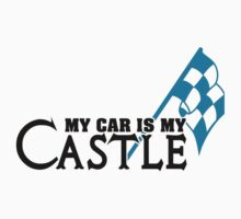 My car is my castle Kids Clothes