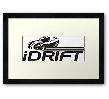 iDrift Framed Print
