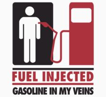 Fuel injected. Gasoline in my veins by nektarinchen