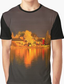 Autumn Reflections Graphic T-Shirt