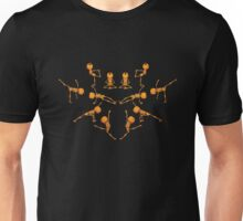 Halloween Yoga Unisex T-Shirt