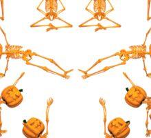 Halloween Yoga Sticker