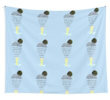 I think fish is nice, but then I think that rain is wet, so who am I to judge? Wall Tapestry