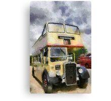 Vintage open top Bristol KSW Canvas Print