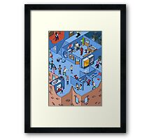 Funny Point of View -Chris Rock Framed Print
