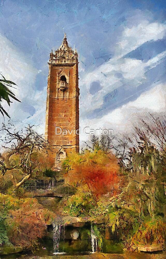 Cabot tower and Peace Park, Bristol, UK by David Carton