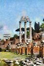 Forum Romanum, Rome, Italy by buttonpresser