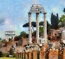 Forum Romanum, Rome, Italy by buttonpresser