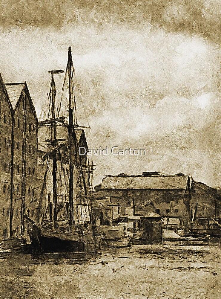Tall Ship, Gloucester Docks, UK by buttonpresser