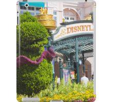 Disneyland Paris 20th Anniversary Entrance Decor iPad Case/Skin