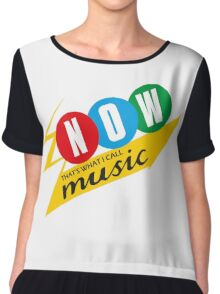 Now That's What I Call Music Chiffon Top