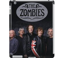 THE ZOMBIES TOUR DATES 2016 iPad Case/Skin