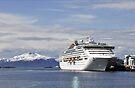 Oceana docked at Molde, Norway by David Carton