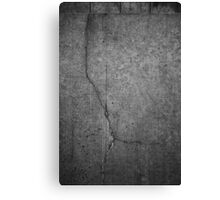 Cracked actor Canvas Print