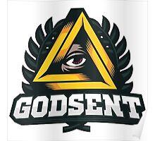 Godsent Logo (CSGO PRO TEAM) Poster