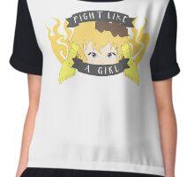 Yang - Fight Like A Girl Chiffon Top