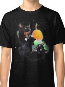 3 Yawning Cats Classic T-Shirt