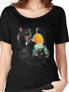 3 Yawning Cats Women's Relaxed Fit T-Shirt