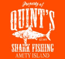 Quints Shark Fishing Kids Clothes
