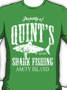 Quints Shark Fishing T-Shirt