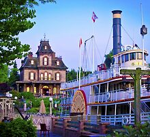 Phantom Manor and the Molly Brown by ThatDisneyLover