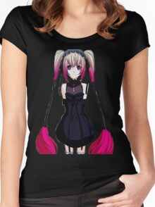 Gothic Pink Women's Fitted Scoop T-Shirt