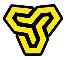 Space Soldier Logo (CSGO PRO TEAM) Photographic Print