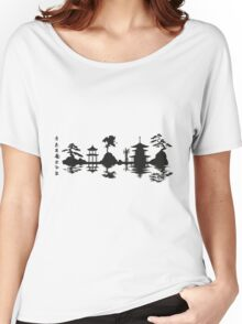 Asian Landscape Women's Relaxed Fit T-Shirt
