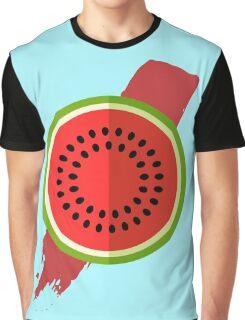 Watermelon Splash Graphic T-Shirt