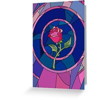 Glass Rose Greeting Card