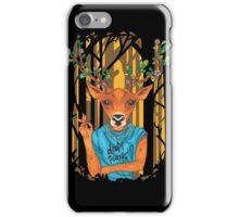 Deer parody daft punk  iPhone Case/Skin