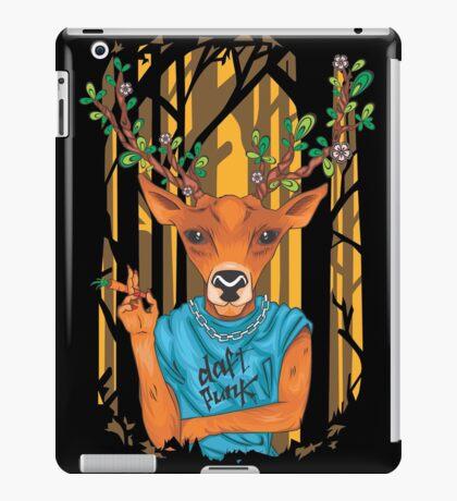Deer parody daft punk  iPad Case/Skin