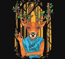 Frida Kahlo Deer parody daft punk  Unisex T-Shirt