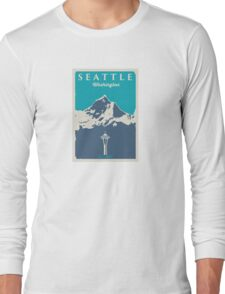 Seattle Washington. Long Sleeve T-Shirt
