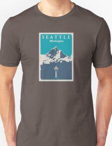 Seattle Washington. Unisex T-Shirt